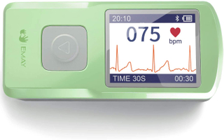 Wireless EKG Monitor-Green